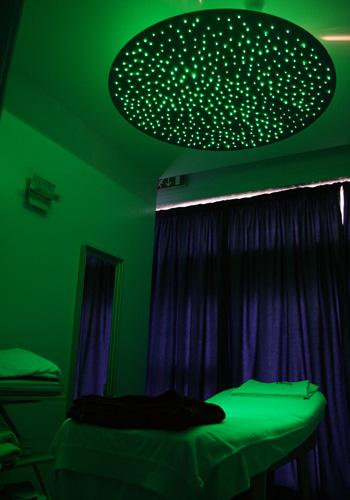 Cielo stellato pannelli cielo stellato sal si sun service pannelli cielo stellato - Cromoterapia camera da letto ...